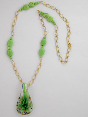 Green Pendant and 