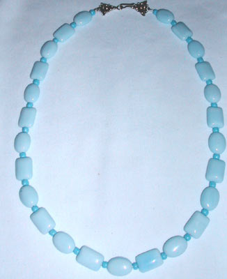 Light Blue Quartz Necklace