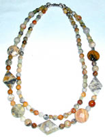 Crazy Lace Agate Jewelry Set