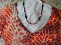 Carnelian and Red Tiger Eye Necklace