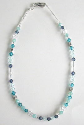 Indicolite Swarovski Necklace