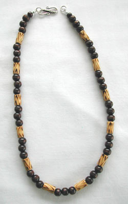 Burnt Wood Necklace