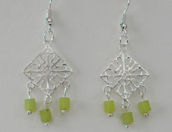 Serpentine Chandelier Earrings