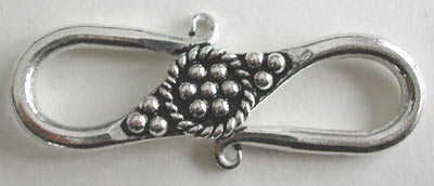 Sterling Silver S Hook Clasp #191