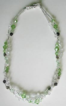 Twist Crystal and Peridot