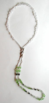 Dangle Peridot from Crystle
