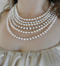 pearl mix and match jewelry set