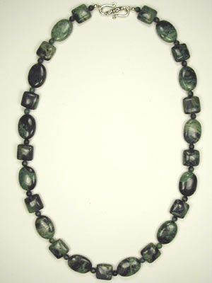 Kambaba jasper necklace