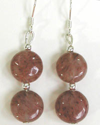 muscovite earrings