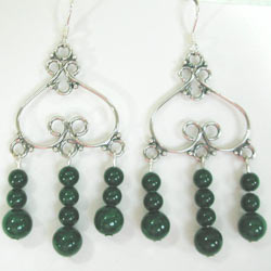 green mountain jade earrings