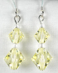 Swarovski jonquil earrings