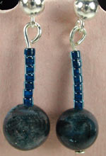 spectrolite drop earrings