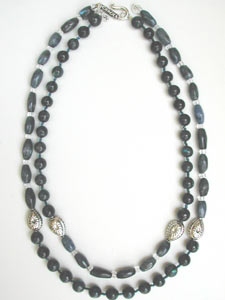 spectrolite necklace set