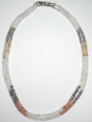 2 strand moonstone necklace