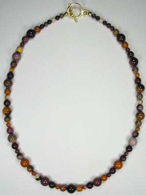 Moukaite Gemstone Necklace