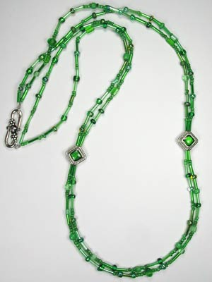 beads green beaded gold with emerald designs necklaces necklace and bead pin