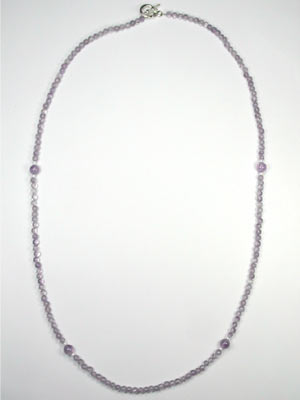 cheap amethyst necklace