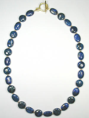 dark blue lapis necklace