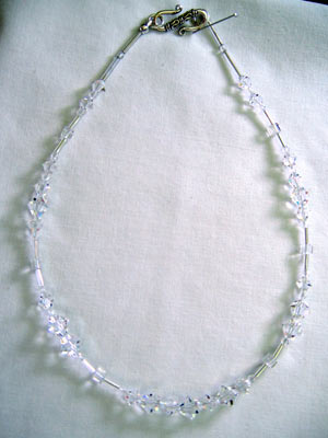 Basic Swarovski Crystal Necklace