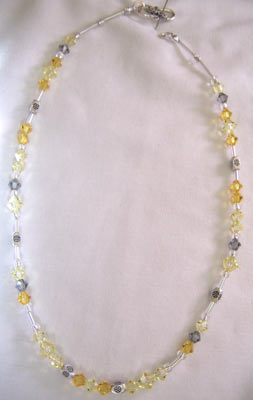 Jonquil Swarovski Crystal Necklace