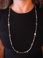 Multicolor Millefiori Necklace