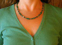 Malachite Gemstone Necklace